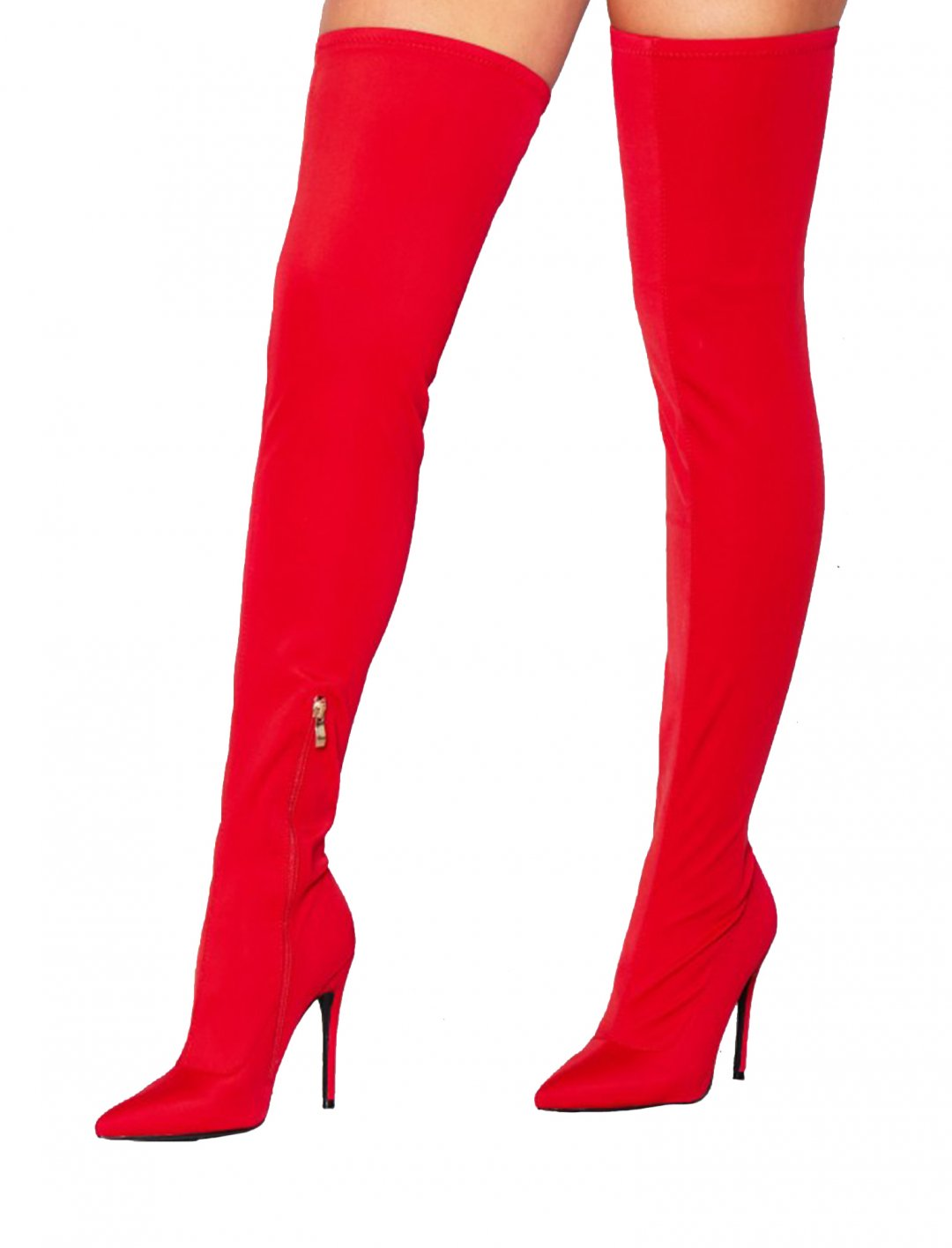 """Missy Empire Thigh High Sock Boot {""""id"""":5,""""product_section_id"""":1,""""name"""":""""Clothing"""",""""order"""":5} Missy Empire"""