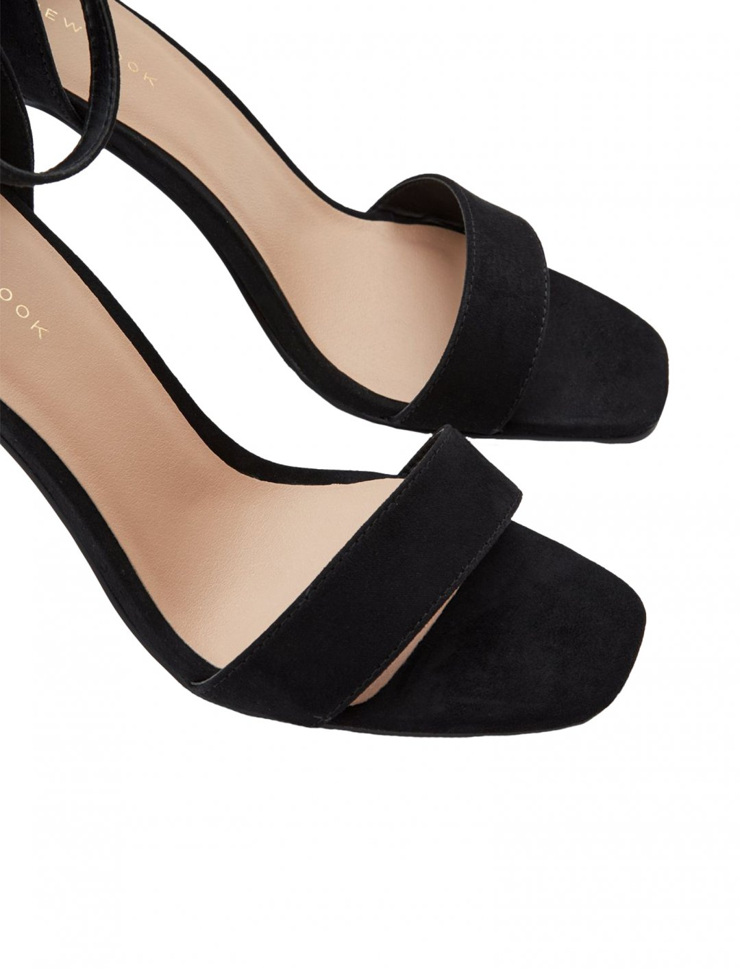"""New Look Black Sandals {""""id"""":12,""""product_section_id"""":1,""""name"""":""""Shoes"""",""""order"""":12} New Look"""