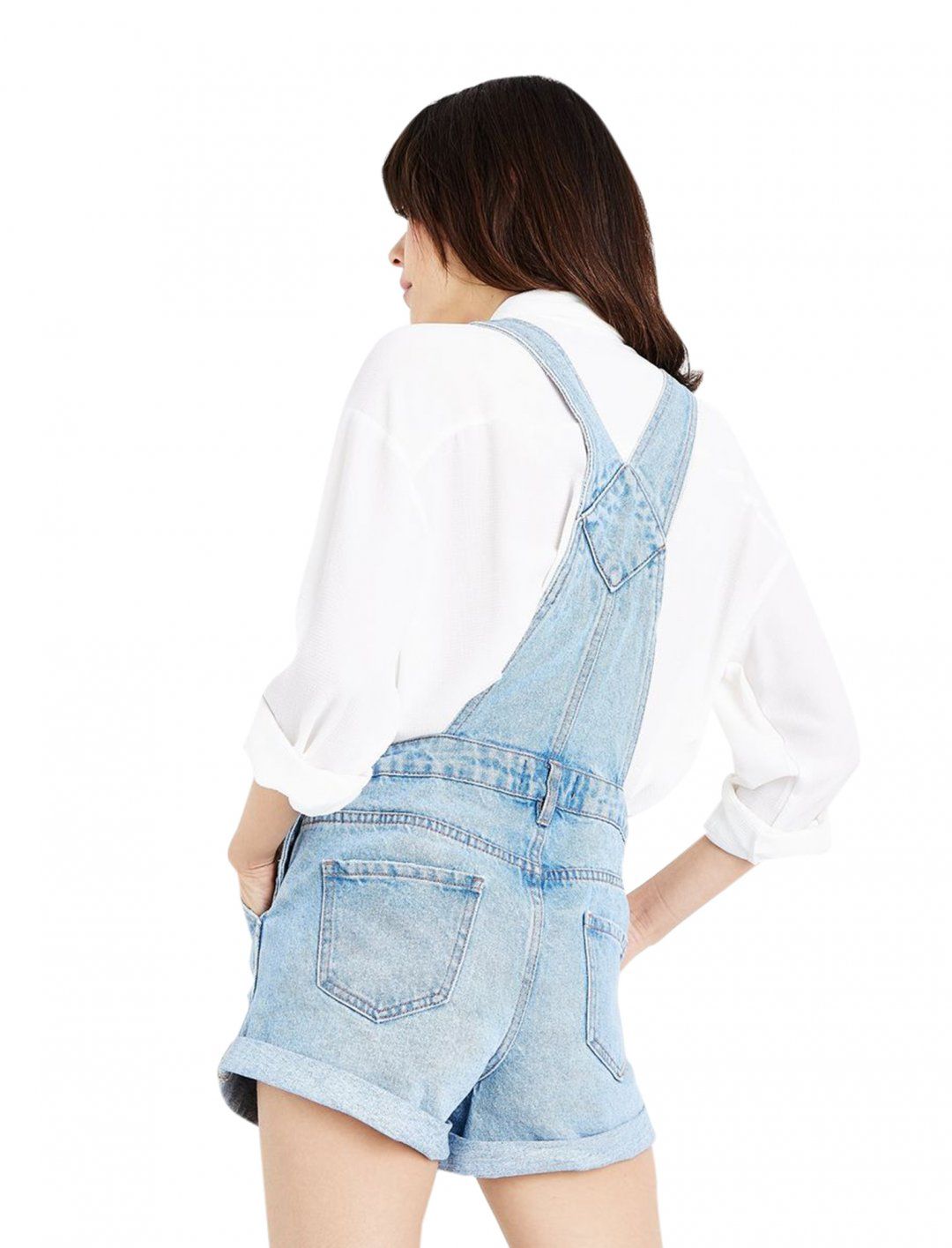 """New Look Denim Short Dungarees {""""id"""":5,""""product_section_id"""":1,""""name"""":""""Clothing"""",""""order"""":5} New Look"""