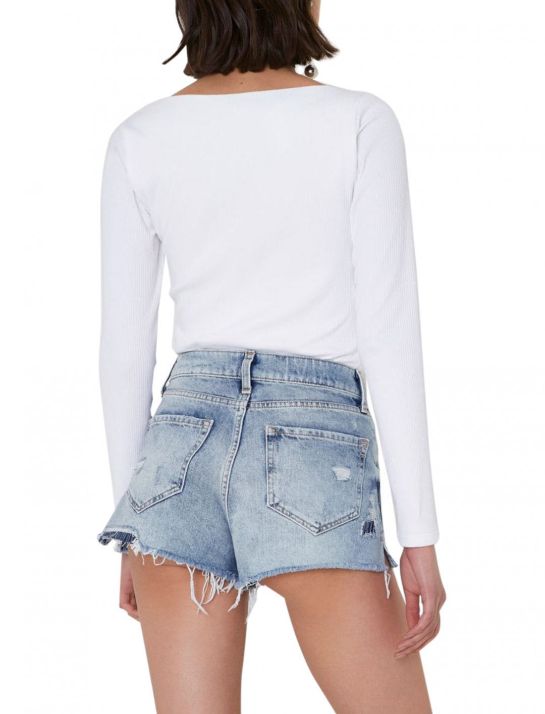 River Island Distressed Shorts Clothing River Island
