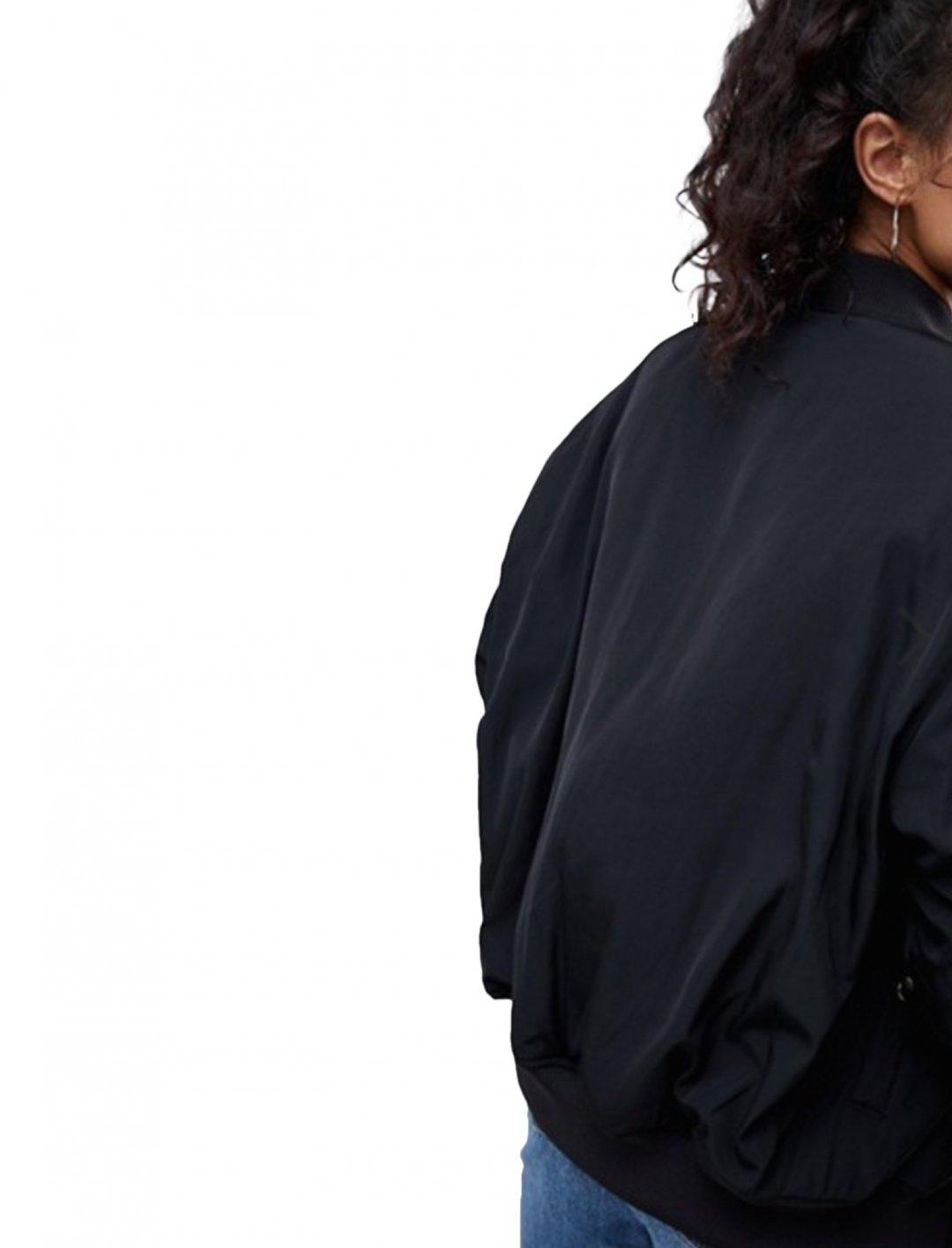 "Asos Oversized Bomber Jacket {""id"":5,""product_section_id"":1,""name"":""Clothing"",""order"":5} Asos"