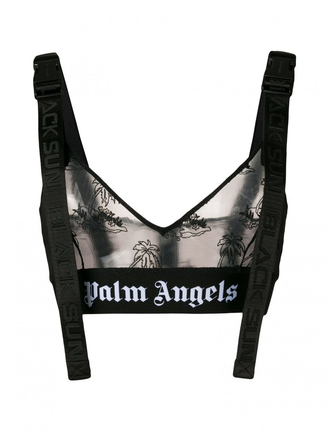 "Era's Mesh Bralette {""id"":5,""product_section_id"":1,""name"":""Clothing"",""order"":5} Palm Angels"