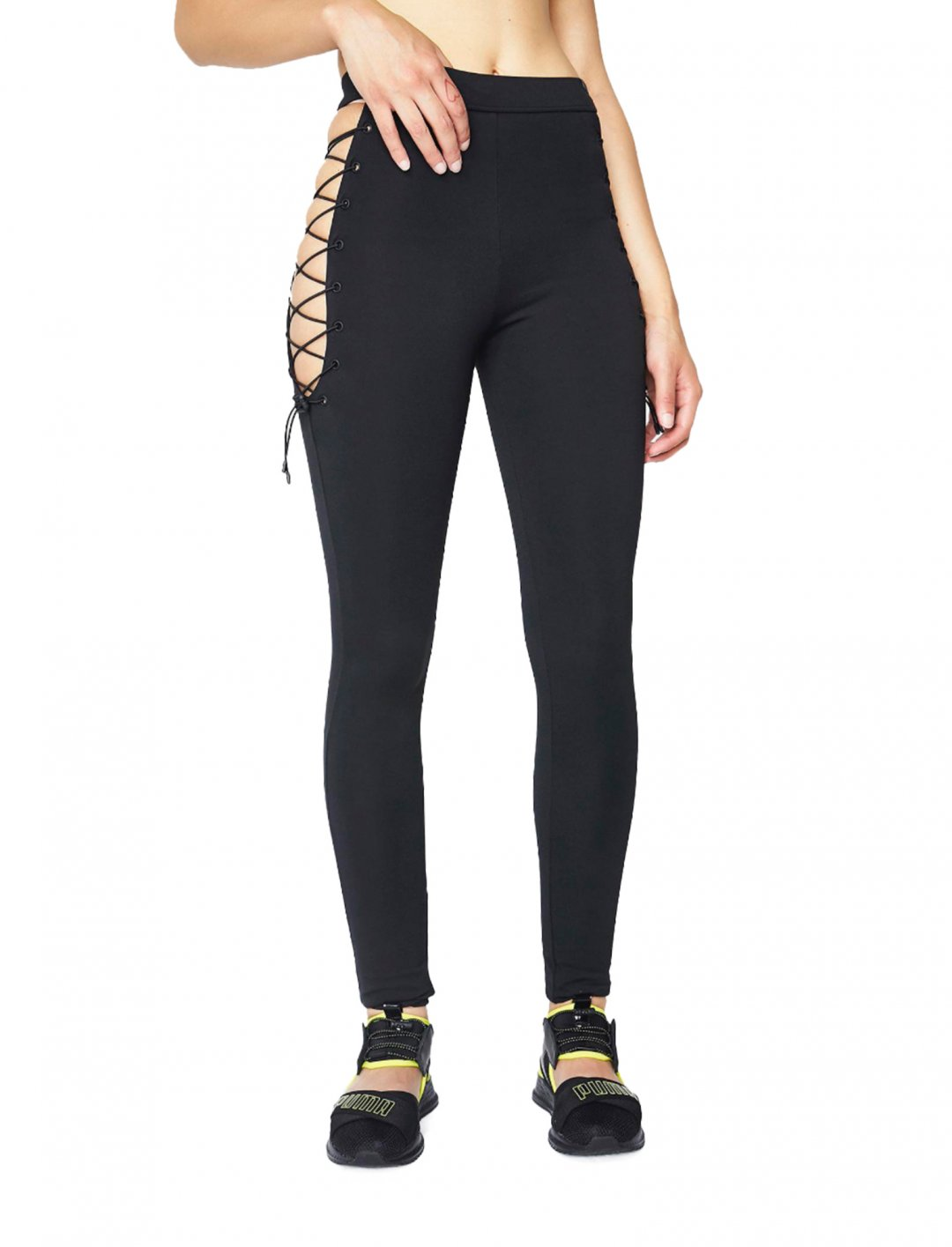 "Era's Side Lace Leggings {""id"":5,""product_section_id"":1,""name"":""Clothing"",""order"":5} Puma"