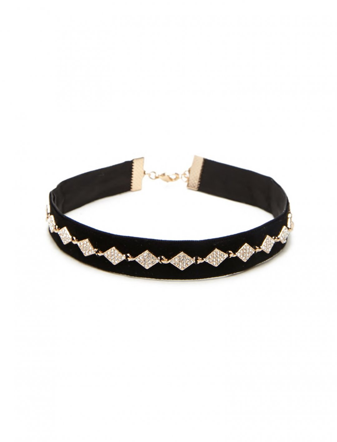 "Forever 21 Faux Gem Diamond Choker {""id"":10,""product_section_id"":1,""name"":""Jewellery"",""order"":10} Forever 21"
