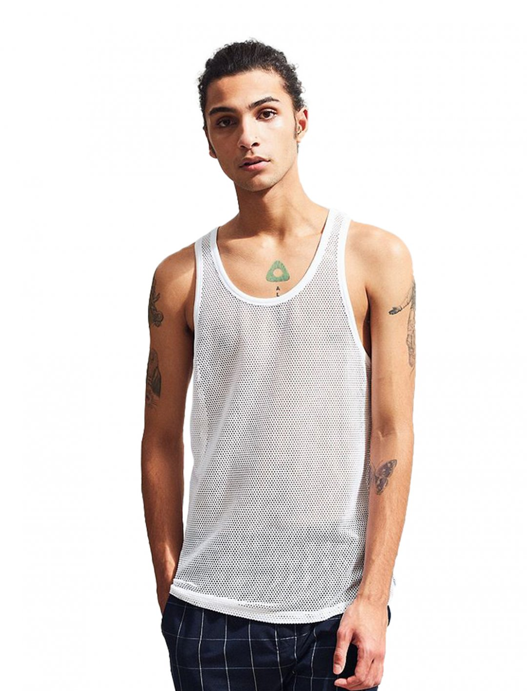 "Mesh Tank Top {""id"":5,""product_section_id"":1,""name"":""Clothing"",""order"":5} Calvin Klein"