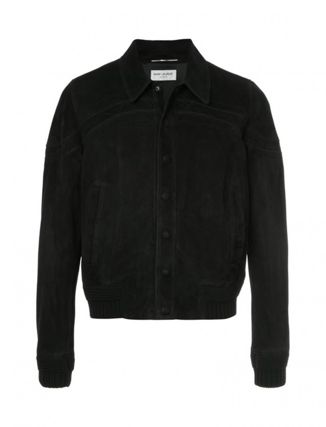 "Anthony Russo's Suede Jacket {""id"":5,""product_section_id"":1,""name"":""Clothing"",""order"":5} Saint Laurent"