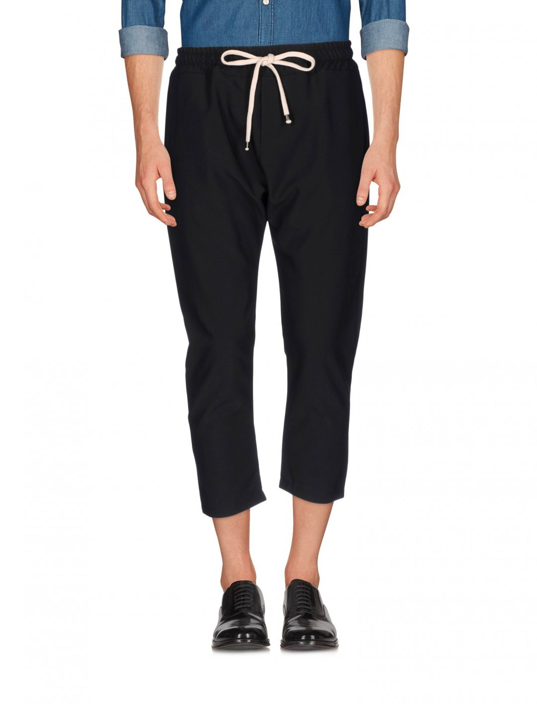 "Black Cropped Trousers {""id"":5,""product_section_id"":1,""name"":""Clothing"",""order"":5} Why Not Brand"