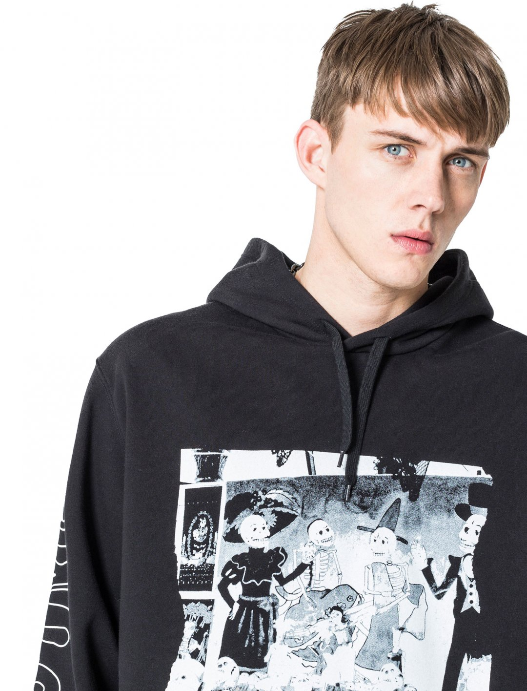 "Cheap Monday Skull Party Hoodie {""id"":5,""product_section_id"":1,""name"":""Clothing"",""order"":5} Cheap Monday"