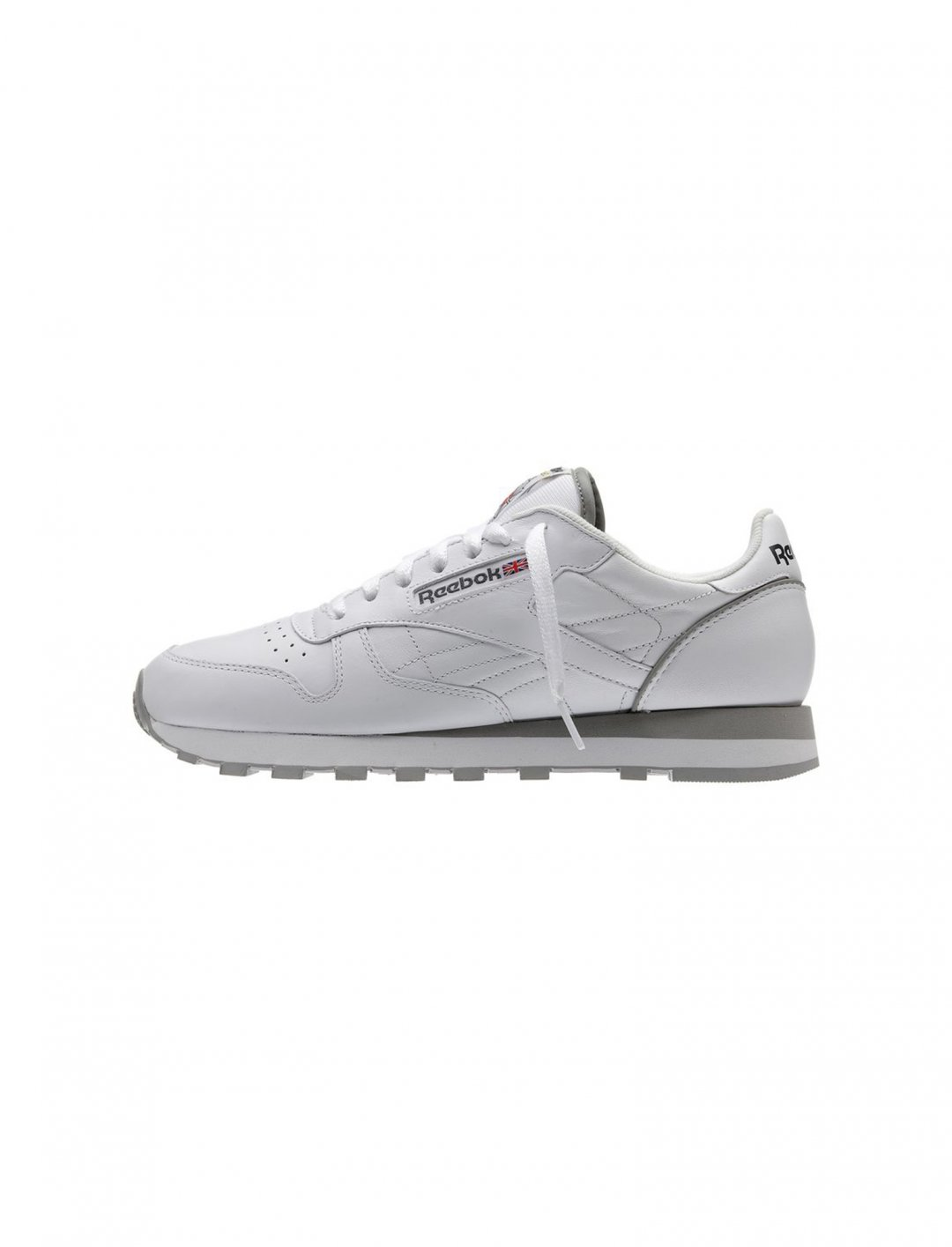 "Classic White Leather Trainers {""id"":12,""product_section_id"":1,""name"":""Shoes"",""order"":12} Reebok"