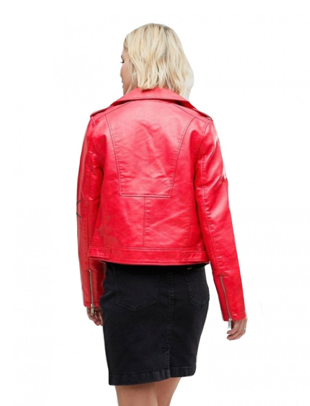 "Faux Leather Biker Jacket {""id"":5,""product_section_id"":1,""name"":""Clothing"",""order"":5} b.Young"