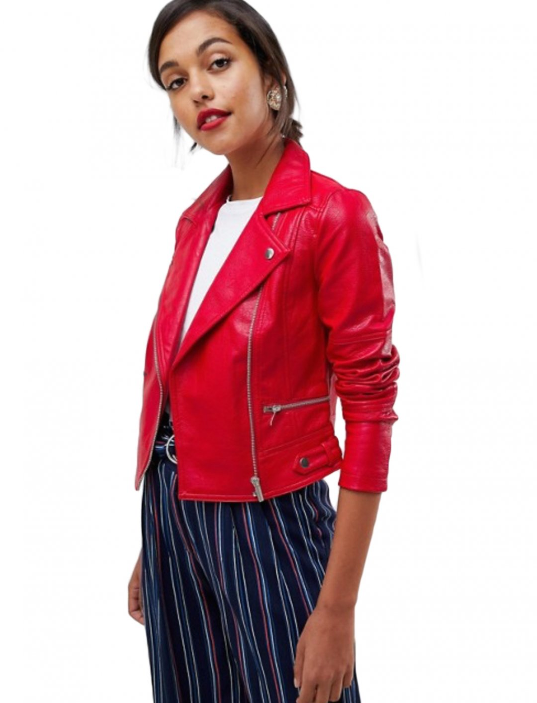 "Faux Leather Jacket {""id"":5,""product_section_id"":1,""name"":""Clothing"",""order"":5} Oasis"
