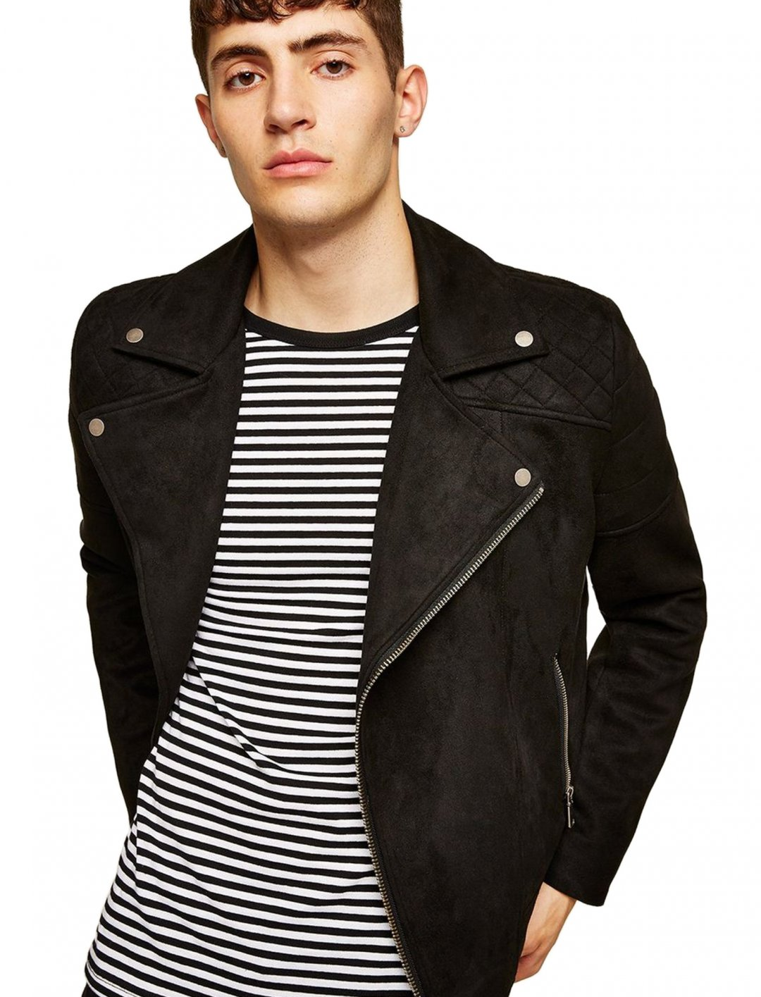 "Faux Suede Biker Jeans {""id"":5,""product_section_id"":1,""name"":""Clothing"",""order"":5} Topman"