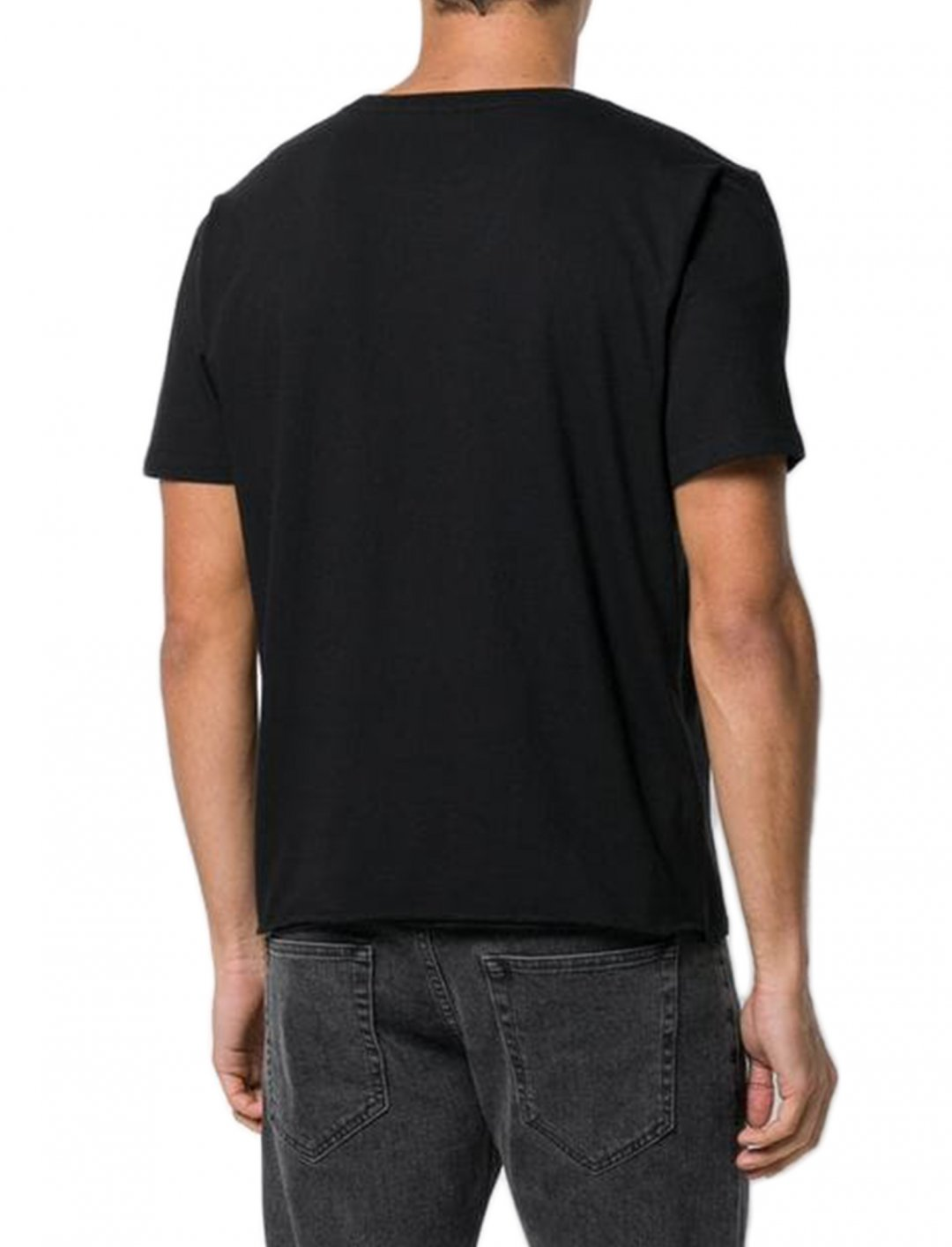 "G-Eazy Black T-shirt {""id"":5,""product_section_id"":1,""name"":""Clothing"",""order"":5} Saint Laurent"