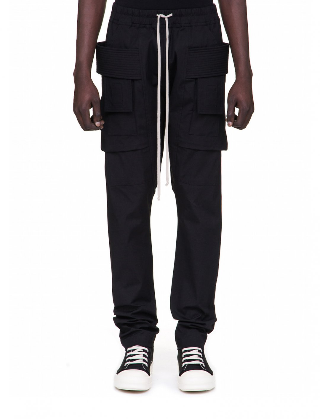 "G-Eazy's Black Cargo Pants {""id"":5,""product_section_id"":1,""name"":""Clothing"",""order"":5} Rick Owens"