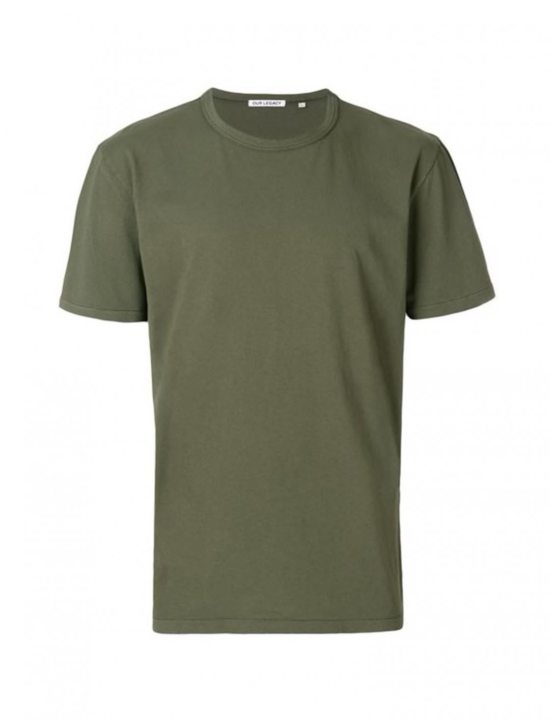 "G-Eazy's Classic Khaki T-Shirt {""id"":5,""product_section_id"":1,""name"":""Clothing"",""order"":5} Our Legacy"