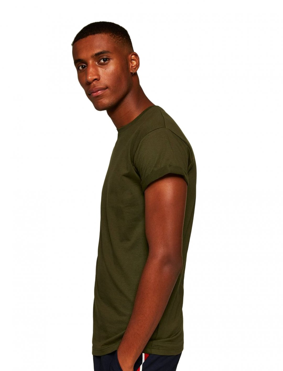 "Khaki Roller T-Shirt {""id"":5,""product_section_id"":1,""name"":""Clothing"",""order"":5} Topman"
