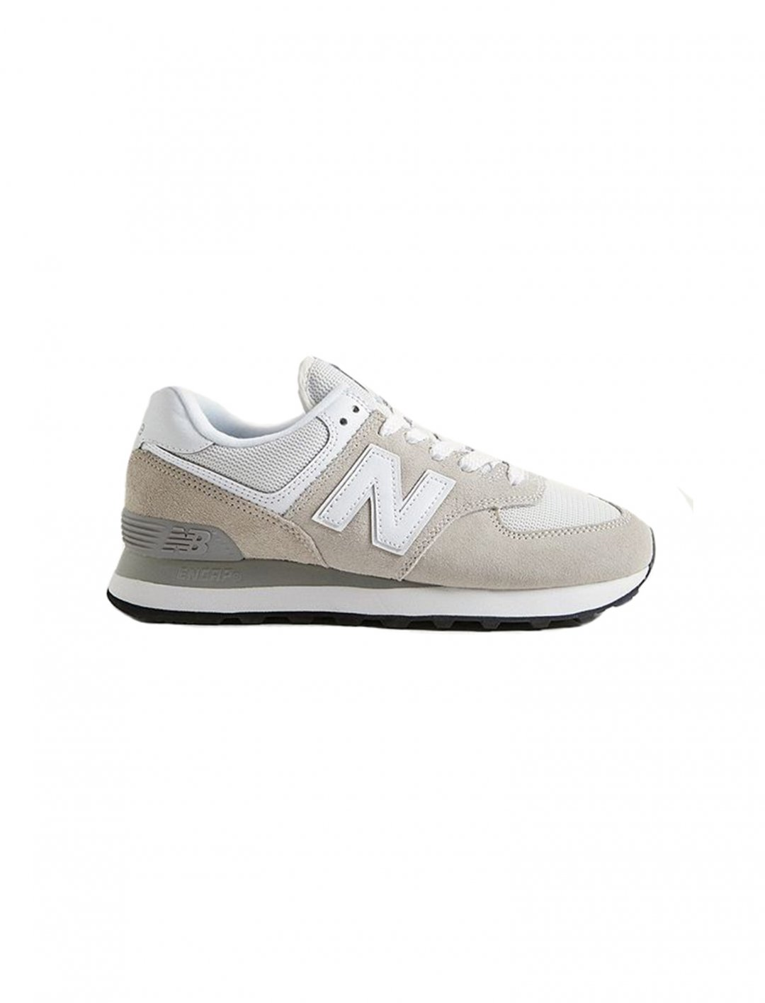 "New Balance Off-White Trainers {""id"":12,""product_section_id"":1,""name"":""Shoes"",""order"":12} New Balance"