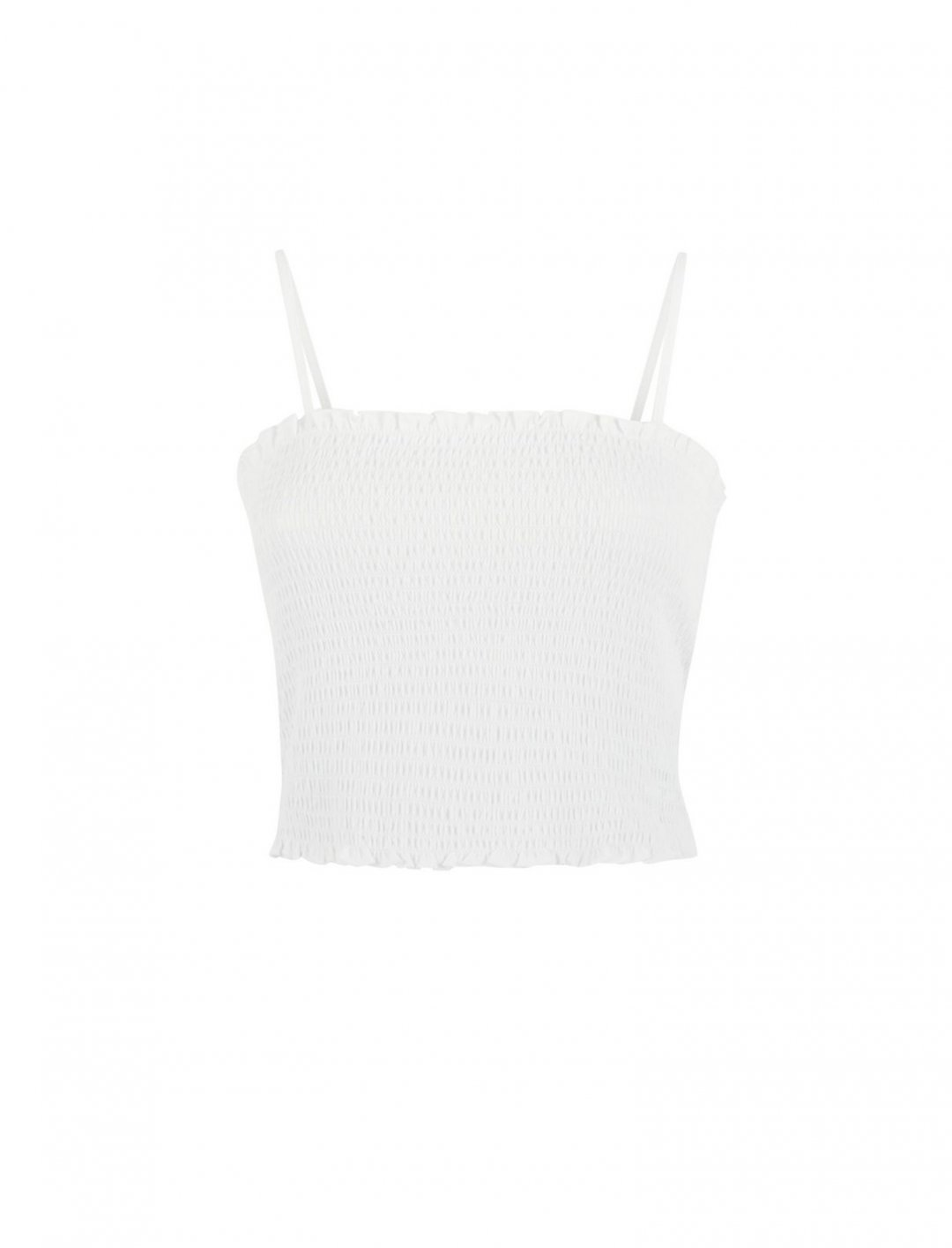 "New Look White Cami {""id"":5,""product_section_id"":1,""name"":""Clothing"",""order"":5} New Look"