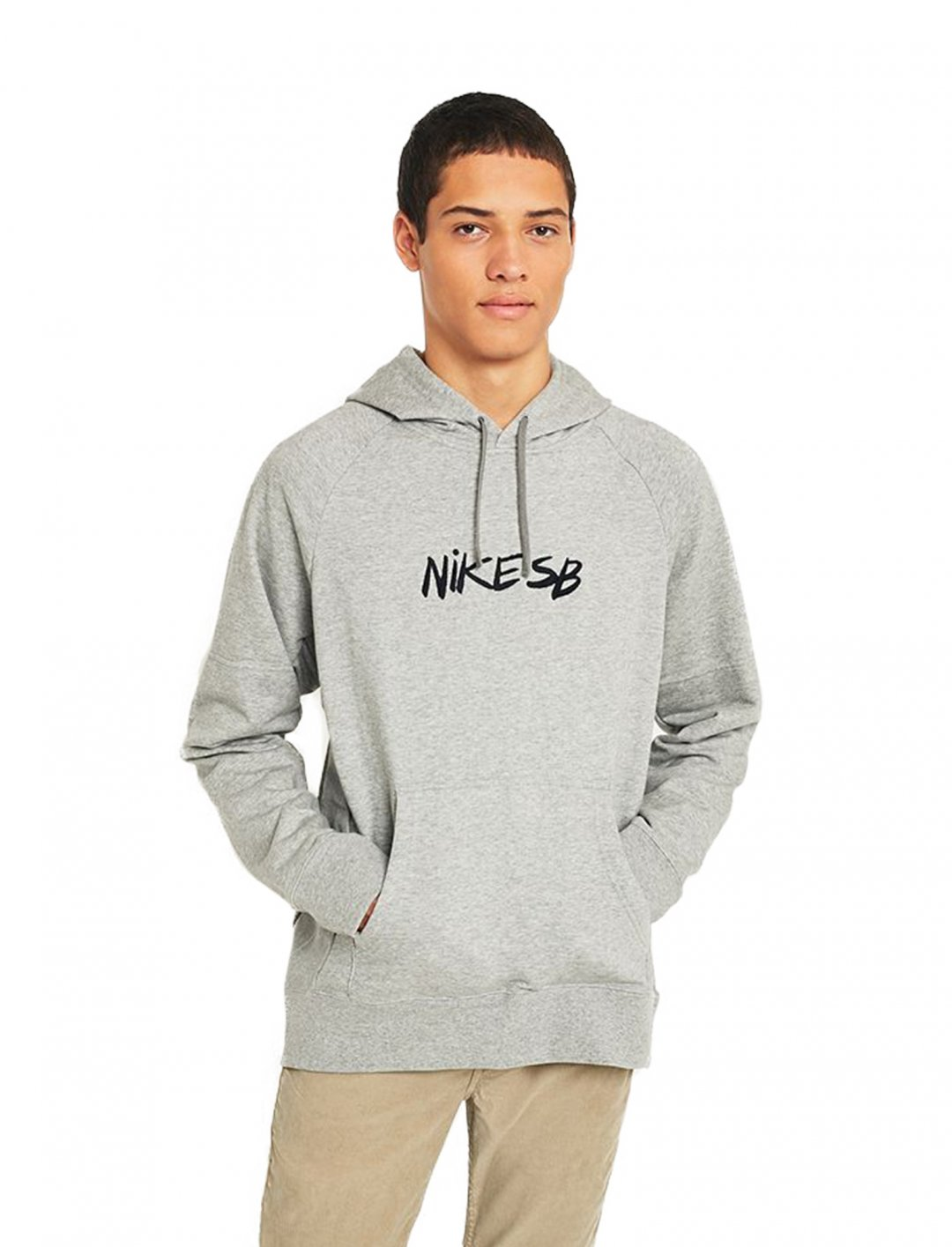"Nike Grey Quilt Hoodie {""id"":5,""product_section_id"":1,""name"":""Clothing"",""order"":5} Nike"
