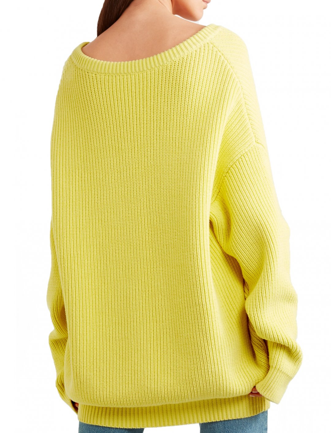 "Off-The-Shoulder Ribbed Sweater {""id"":5,""product_section_id"":1,""name"":""Clothing"",""order"":5} Balenciaga"