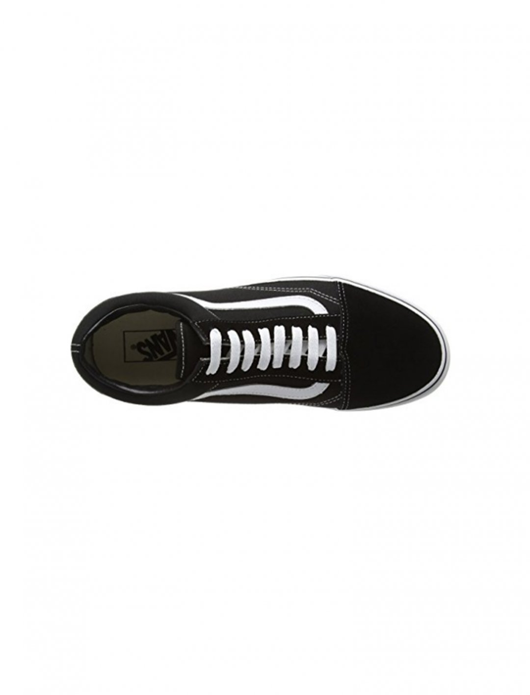 "Old Skool Black Canvas Trainers {""id"":12,""product_section_id"":1,""name"":""Shoes"",""order"":12} Vans"