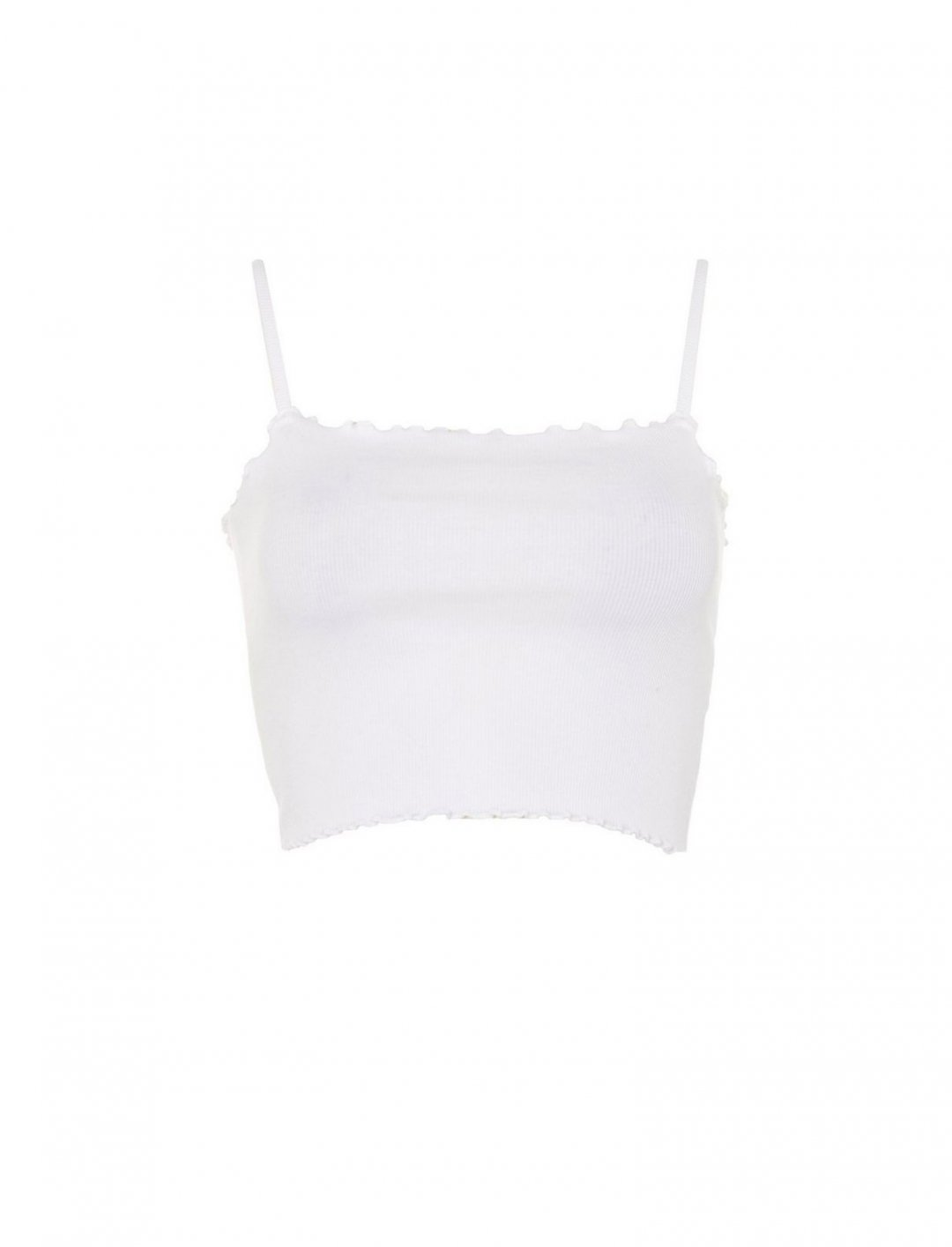 "Riley Lettuce Hem Camisole Top {""id"":5,""product_section_id"":1,""name"":""Clothing"",""order"":5} Topshop"