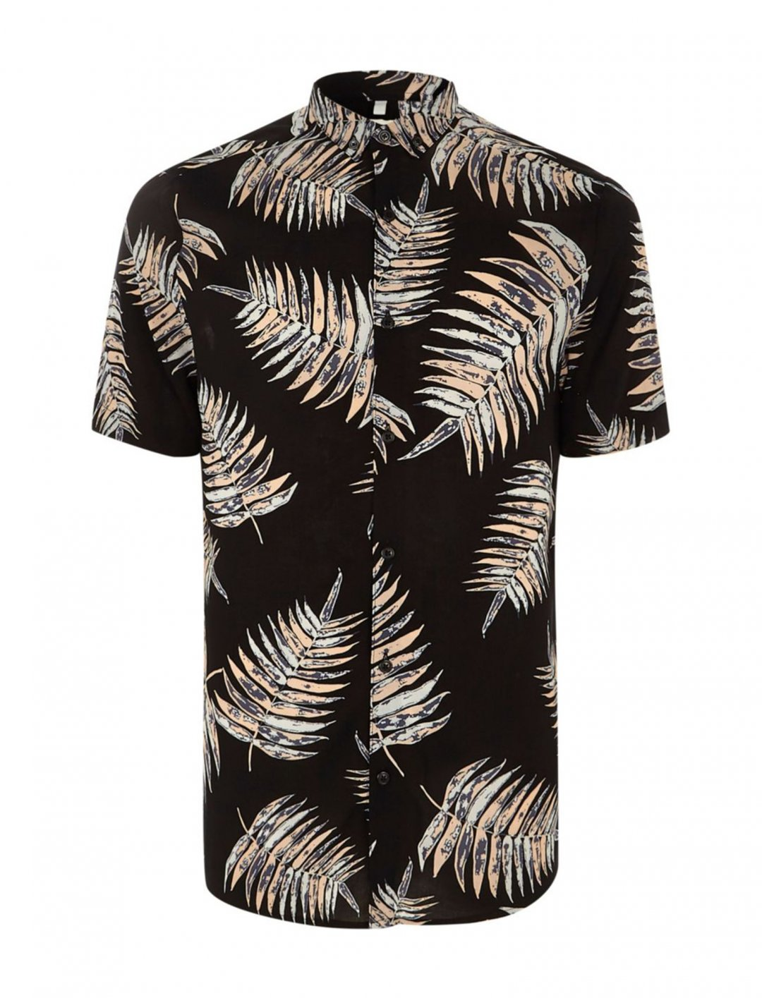 "River Island Leaf Print Shirt {""id"":5,""product_section_id"":1,""name"":""Clothing"",""order"":5} River Island"