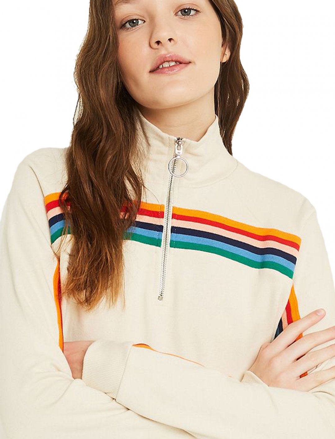 "UO Funnel Neck Track Top {""id"":5,""product_section_id"":1,""name"":""Clothing"",""order"":5} UO"