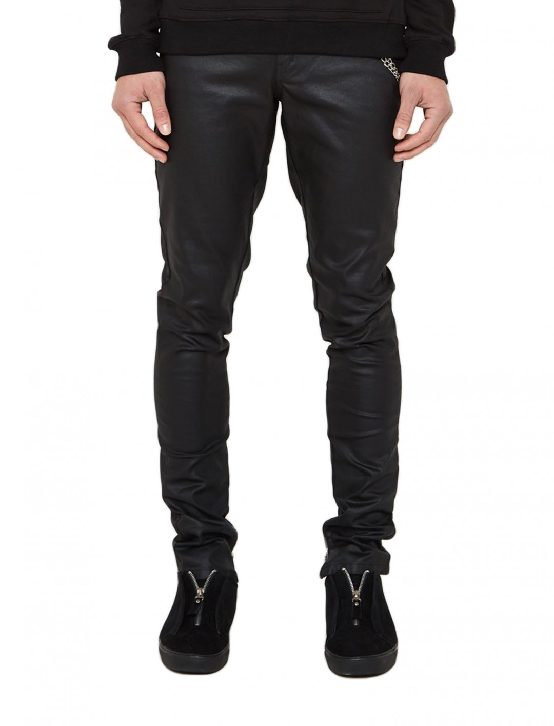 "Wax-Effect Jeans {""id"":5,""product_section_id"":1,""name"":""Clothing"",""order"":5} Maniere De Voir"
