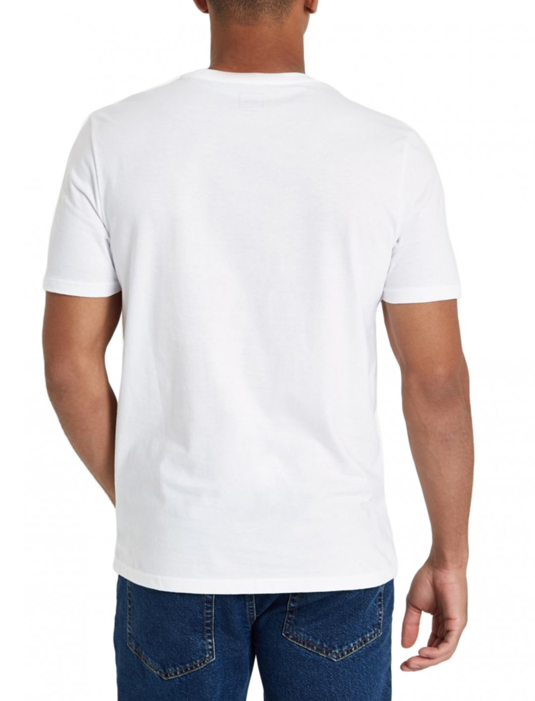 "White Short Sleeve T-Shirt {""id"":5,""product_section_id"":1,""name"":""Clothing"",""order"":5} River Island"