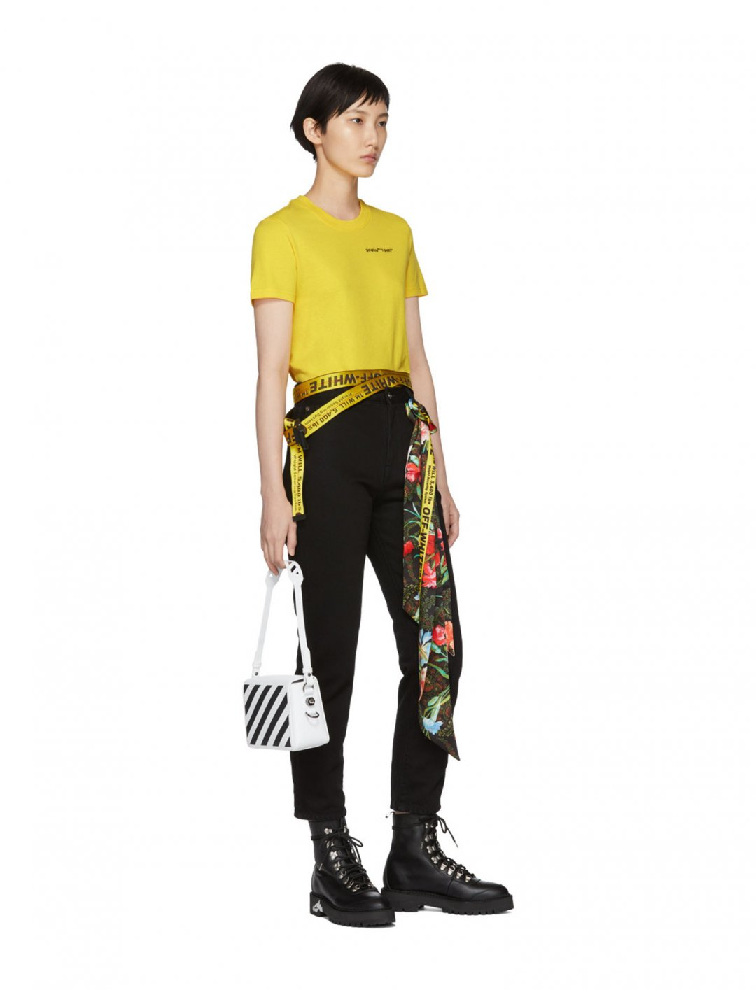 "Yellow Industrial Belt {""id"":16,""product_section_id"":1,""name"":""Accessories"",""order"":15} Off-White"