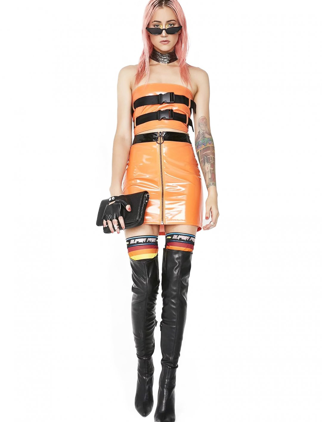 "Buckle Vinyl Top {""id"":5,""product_section_id"":1,""name"":""Clothing"",""order"":5} Dolls Kill"