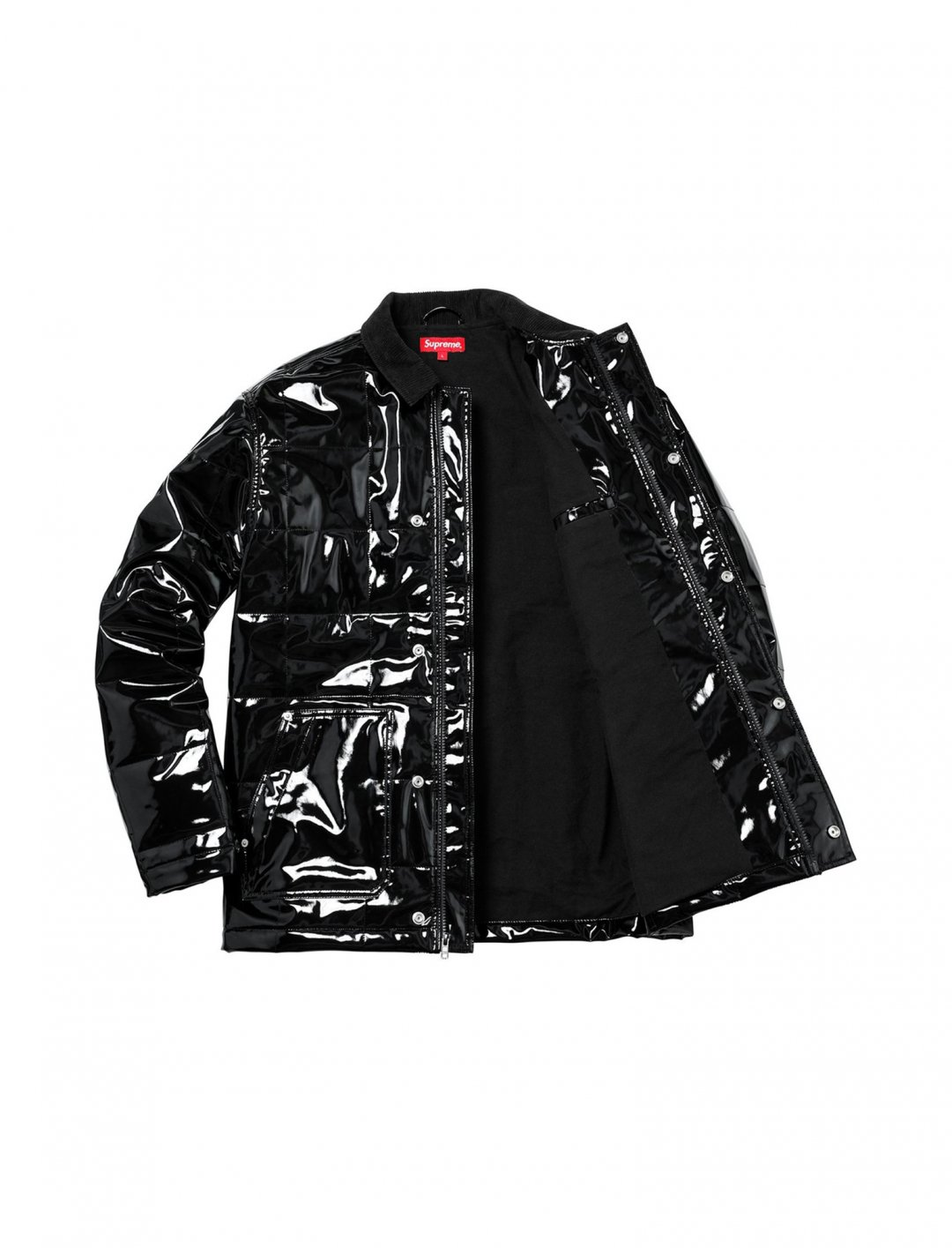 "GASHI's Vinyl Work Jacket {""id"":5,""product_section_id"":1,""name"":""Clothing"",""order"":5} Supreme"