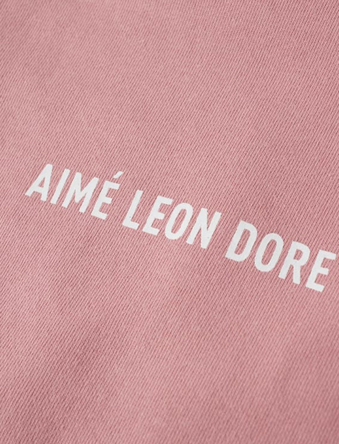 "GASHI's Crew Sweatshirt {""id"":5,""product_section_id"":1,""name"":""Clothing"",""order"":5} Aime Leon Dore"
