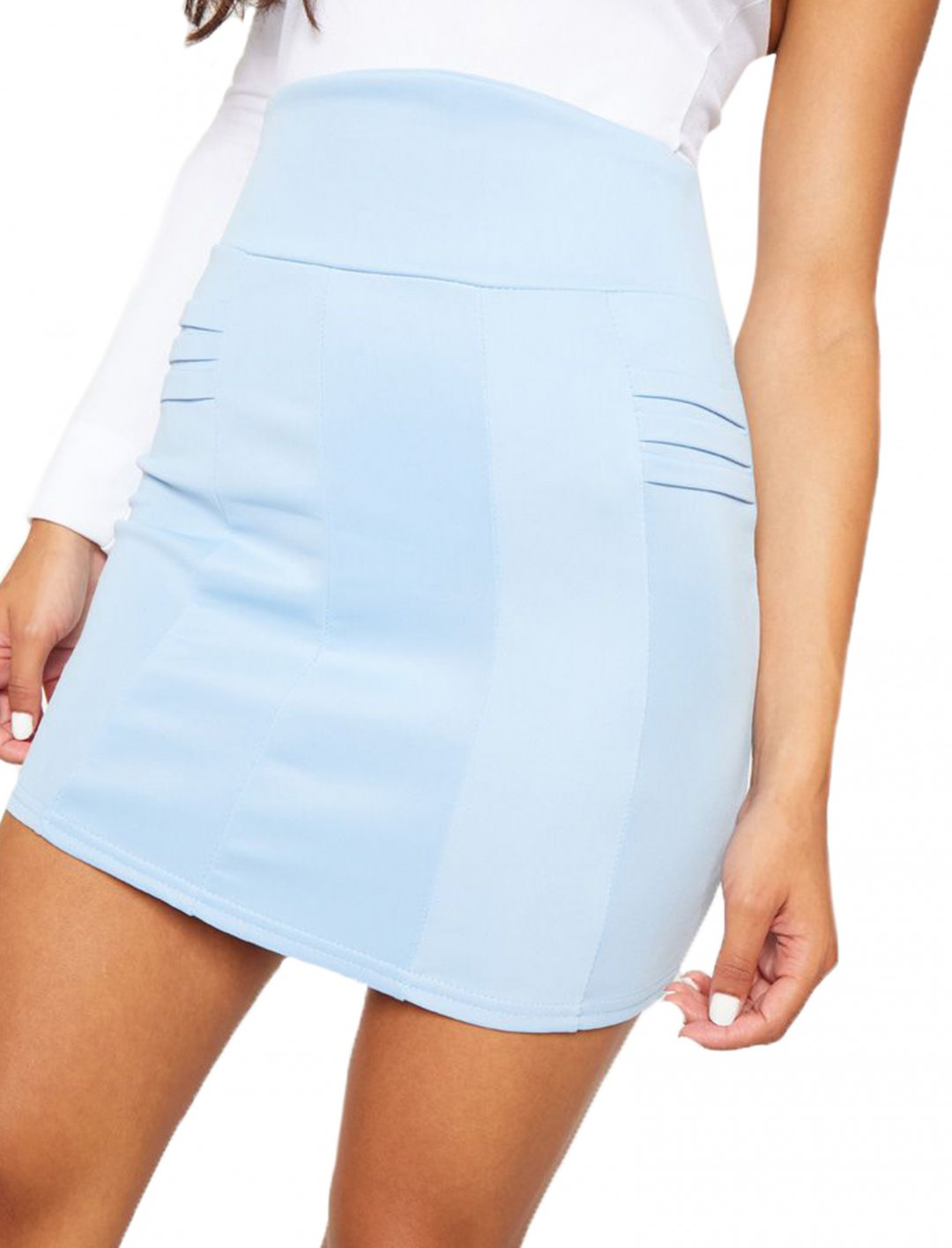 "High Waisted Skirt {""id"":5,""product_section_id"":1,""name"":""Clothing"",""order"":5} PLT"