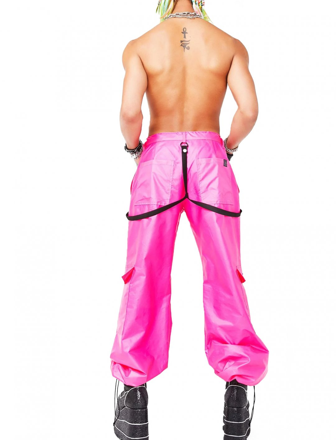 "Neon Pink Flex Pants {""id"":5,""product_section_id"":1,""name"":""Clothing"",""order"":5} ESQAPE"