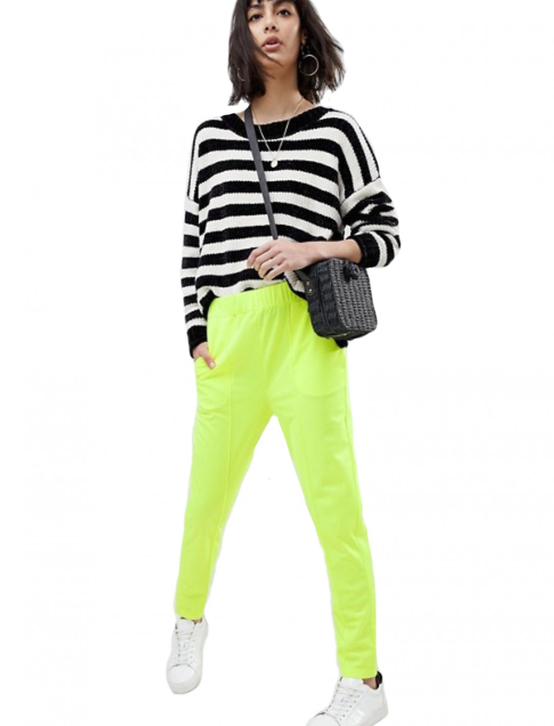 "Neon Skinny Track Pant {""id"":5,""product_section_id"":1,""name"":""Clothing"",""order"":5} Asos Design"