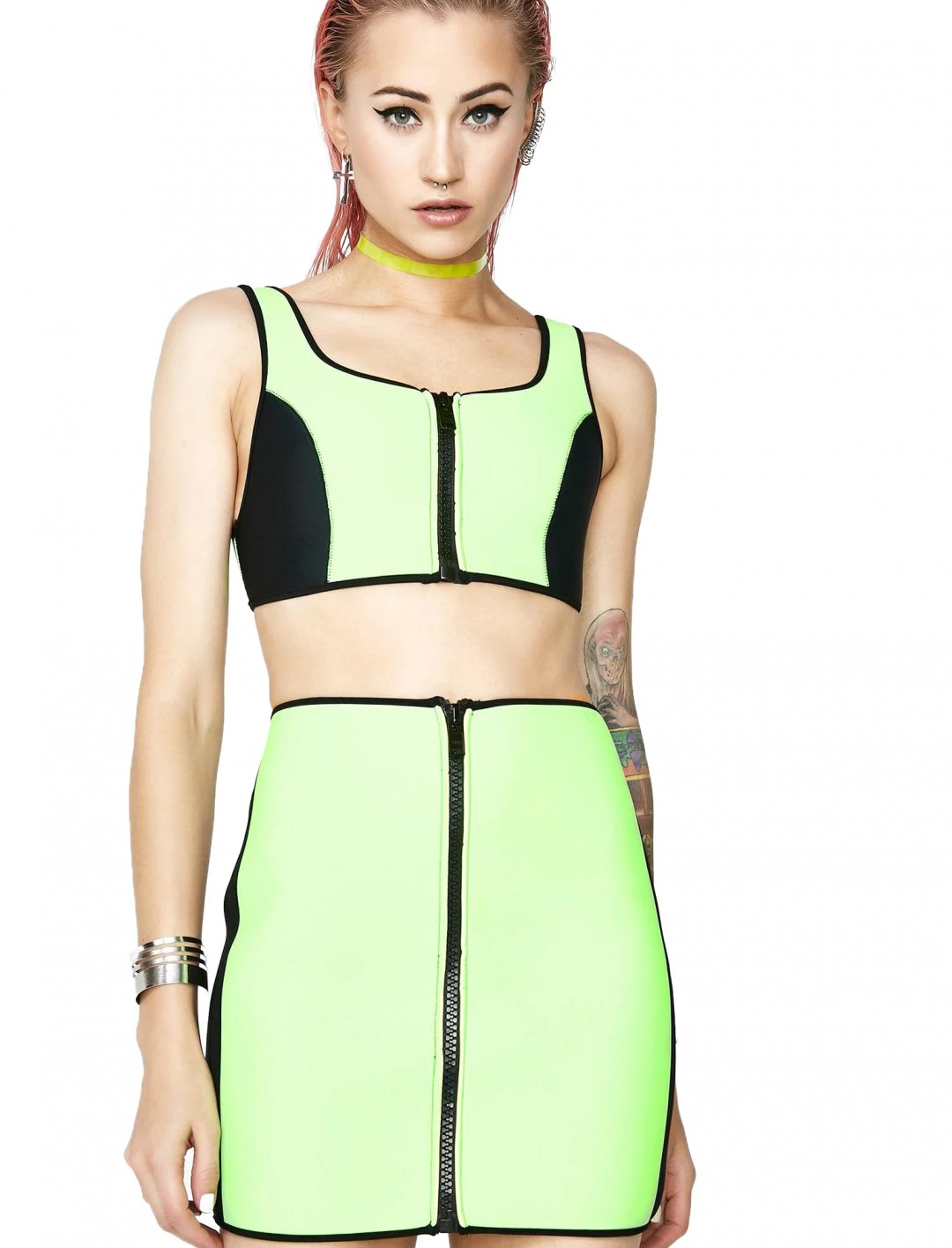 "Neoprene Crop Top {""id"":5,""product_section_id"":1,""name"":""Clothing"",""order"":5} Current Mood"