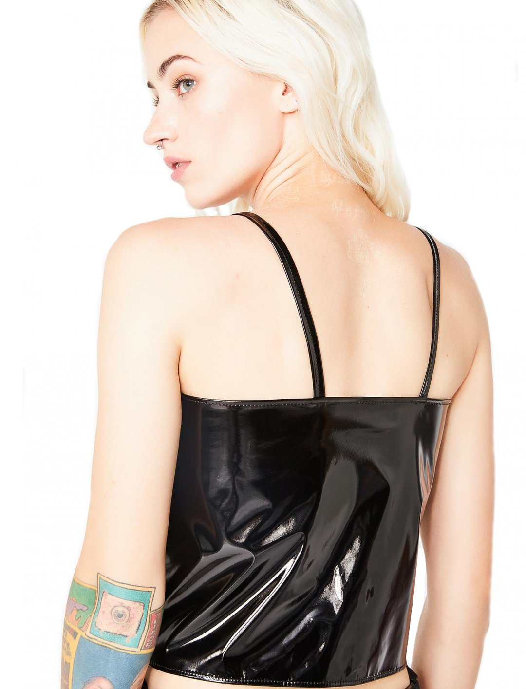 "PVC Buckle Corset {""id"":5,""product_section_id"":1,""name"":""Clothing"",""order"":5} Tiar"