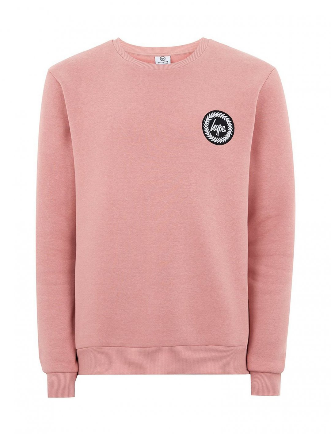 "Pink Crest Sweatshirt {""id"":5,""product_section_id"":1,""name"":""Clothing"",""order"":5} HYPE"
