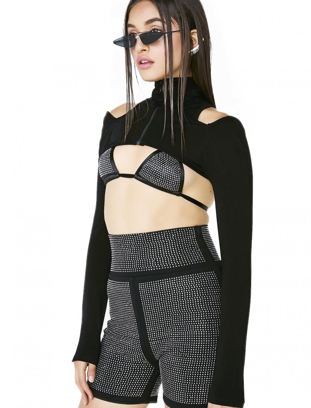 "Vesta Crop Shrug {""id"":5,""product_section_id"":1,""name"":""Clothing"",""order"":5} I.AM.GIA"