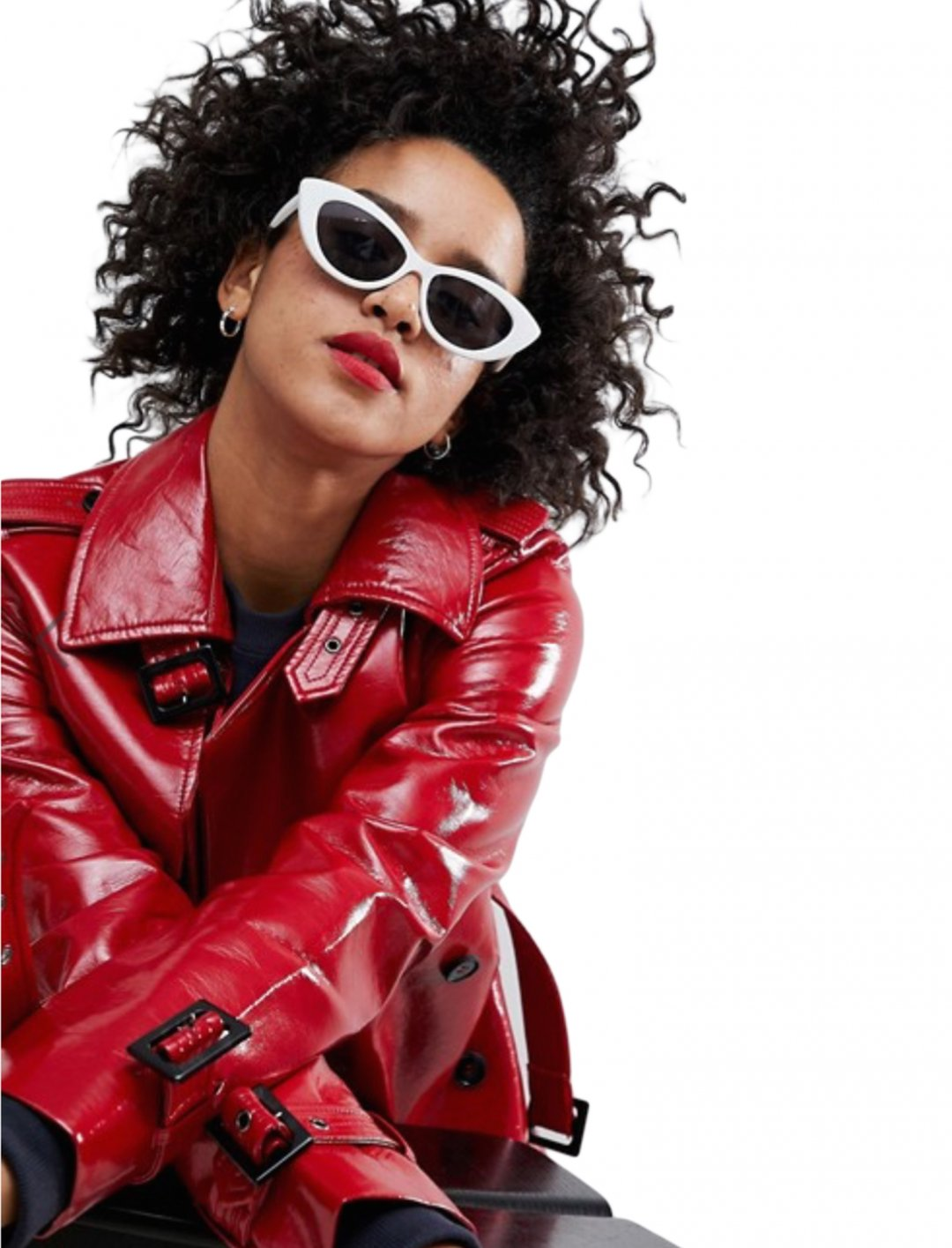 """Cat Eye Sunglasses {""""id"""":16,""""product_section_id"""":1,""""name"""":""""Accessories"""",""""order"""":15} ASOS DESIGN"""