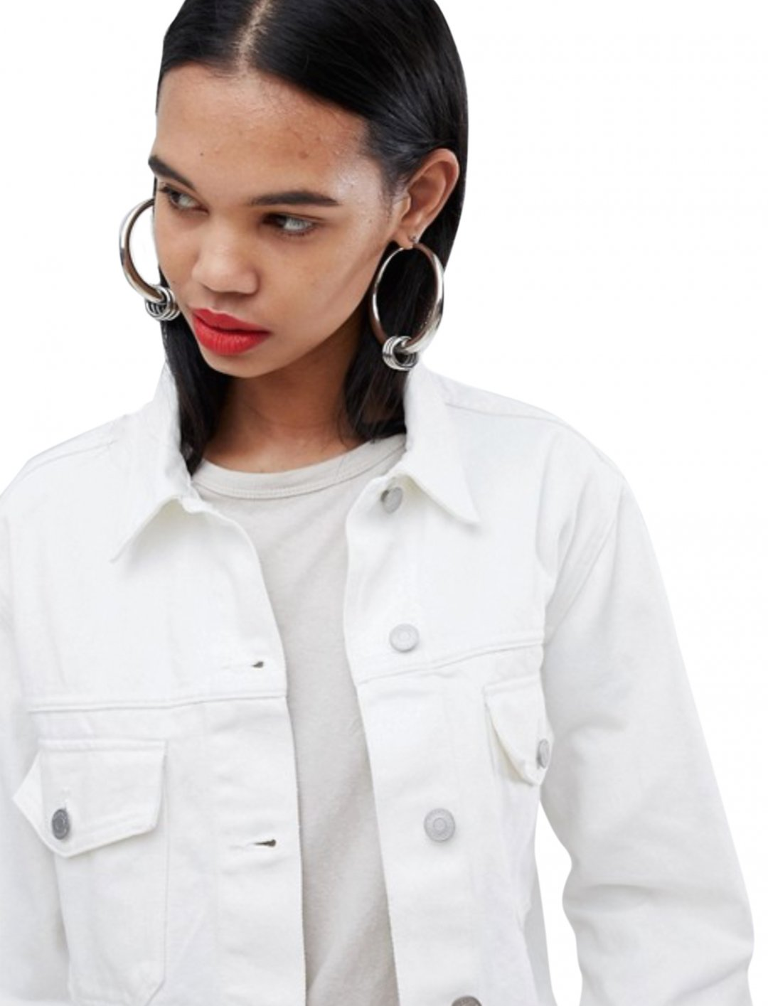 """Cropped Denim Jacket {""""id"""":5,""""product_section_id"""":1,""""name"""":""""Clothing"""",""""order"""":5} Weekday"""