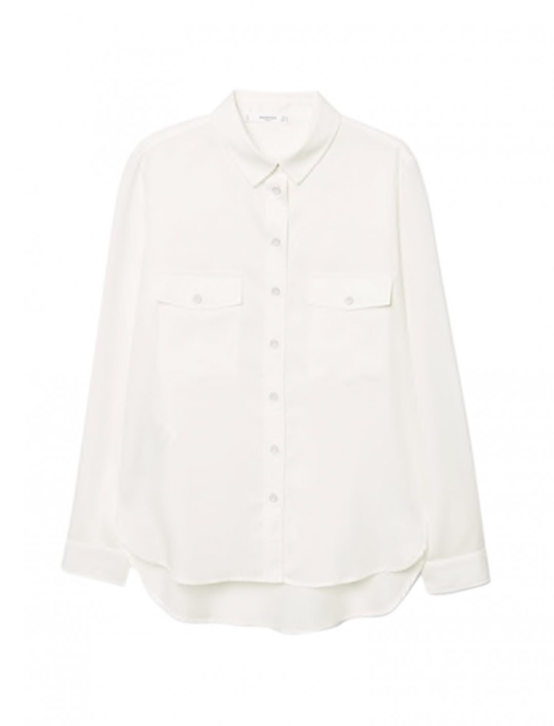 """Pockets Flowy Shirt {""""id"""":5,""""product_section_id"""":1,""""name"""":""""Clothing"""",""""order"""":5} MANGO"""
