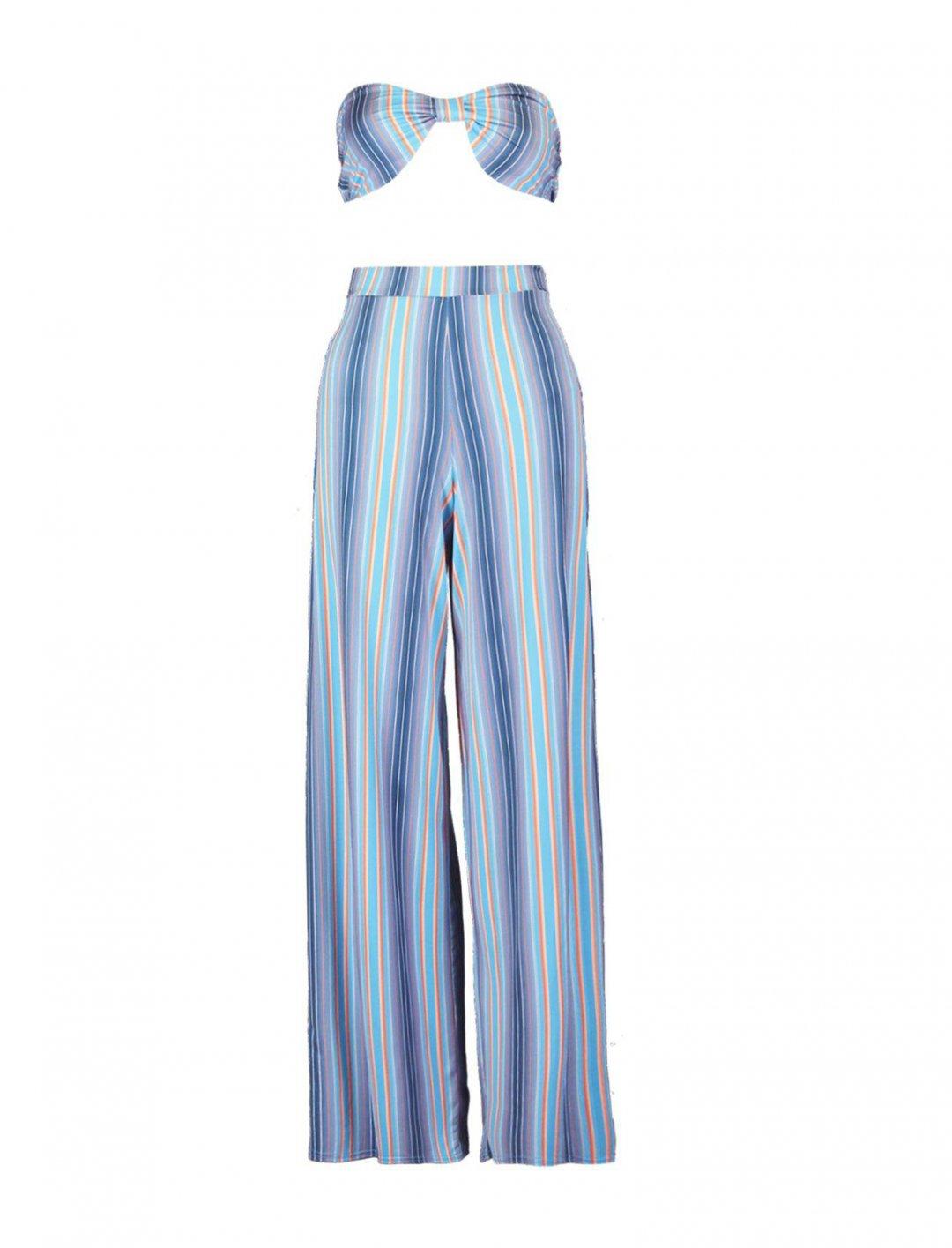 Stripe Co-Ord Clothing boohoo