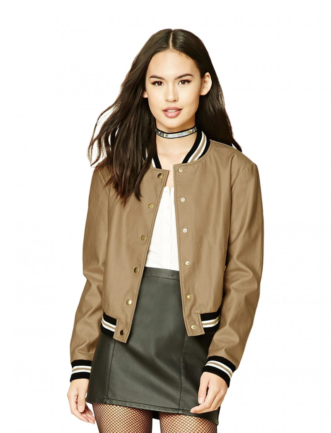 "Bomber Jacket {""id"":5,""product_section_id"":1,""name"":""Clothing"",""order"":5} Forever 21"
