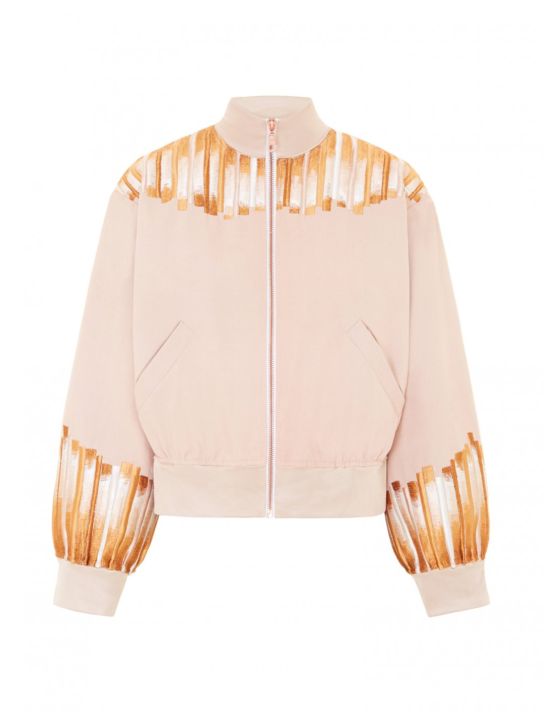 "Embroidery Bomber Jacket {""id"":5,""product_section_id"":1,""name"":""Clothing"",""order"":5} Sadie Clayton"
