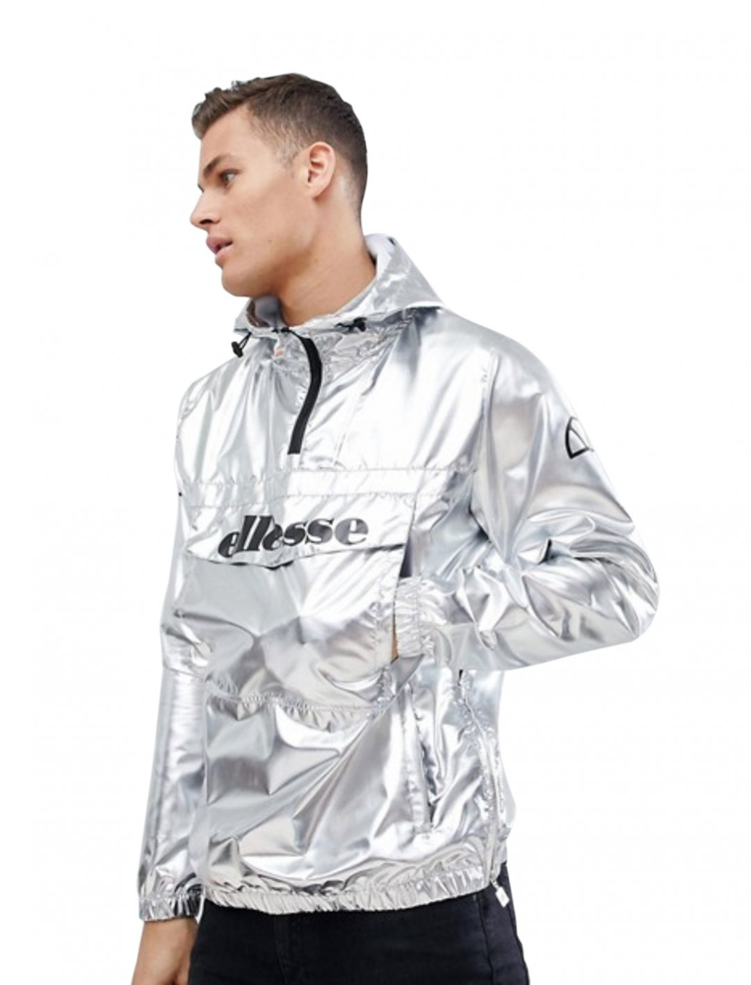 "Jacket In Silver {""id"":5,""product_section_id"":1,""name"":""Clothing"",""order"":5} ellesse"