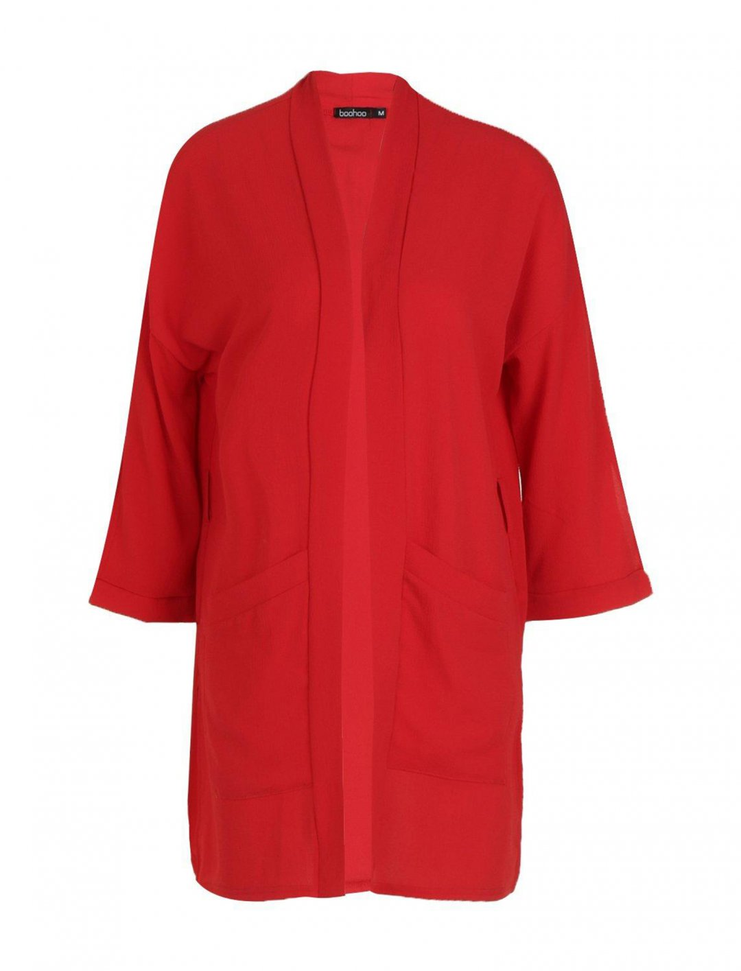 "Kimono Jacket In Red {""id"":5,""product_section_id"":1,""name"":""Clothing"",""order"":5} boohoo"