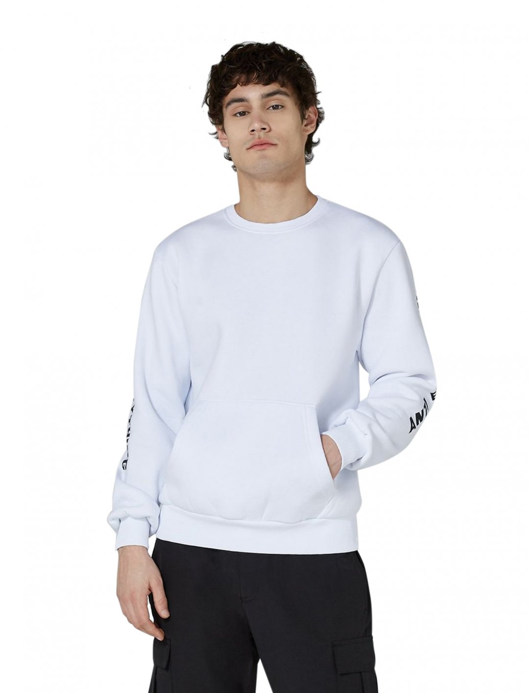 "Sweatshirt In White {""id"":5,""product_section_id"":1,""name"":""Clothing"",""order"":5} ANTIOCH"
